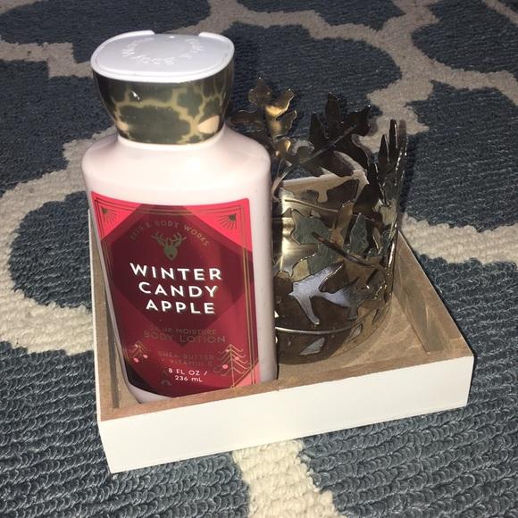 Bath & Body Works Other - Bath&BodyWorks Winter ❄️ Candy 🍎 Apple Lotion